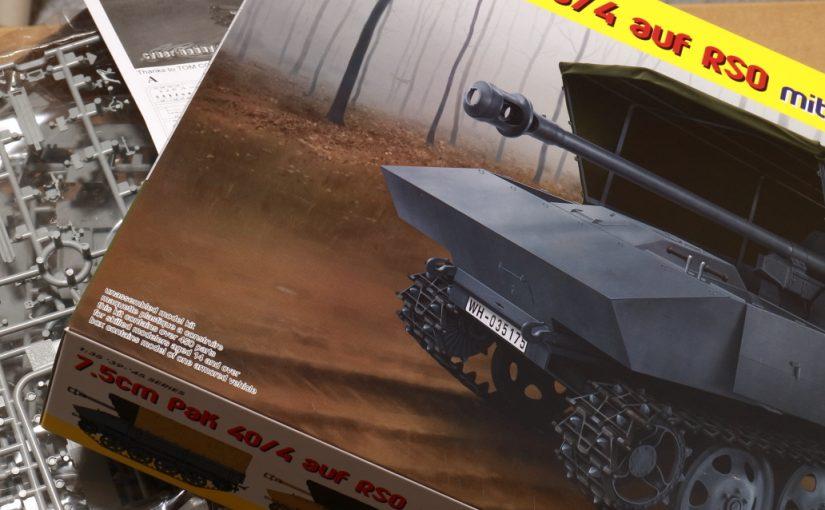 ドラゴン1/35 7.5cm PaK40/4 auf RSO 【完成】